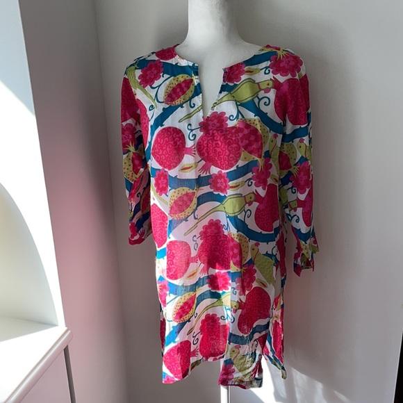 Gretchen Scott Designs Floral Swim Coverup